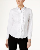 Tommy Hilfiger Ruffled Front Shirt
