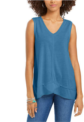Style&Co. Style & Co High-Low Tank Top