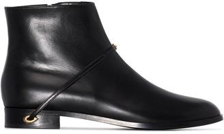 Jennifer Chamandi Gianni ankle boots