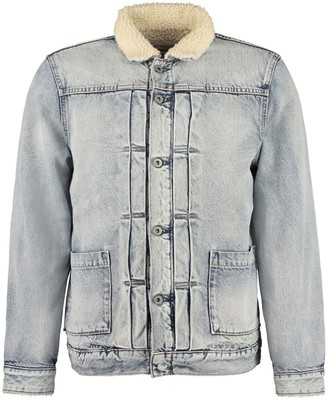Levi's Levis Sherpa Trucker Denim Jacket