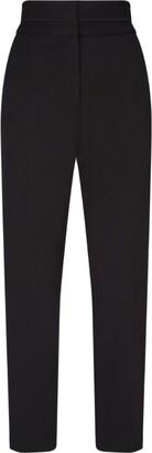 Sandro Paris High-Rise Side-Stripe Trousers