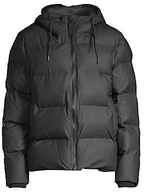 Rains Women's Hooded Puffer Jacket