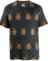 Paul Smith beetle-print T-shirt