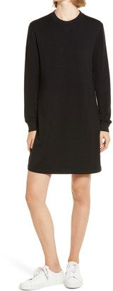 Lou & Grey Signaturesoft Long Sleeve Sweatshirt Dress