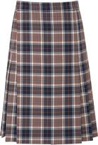 Tory Burch Loretta Milano Tartan Skirt