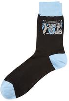 Alexander McQueen Intarsia Logo Socks