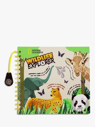 National Geographic Wildlife Explorers Journal