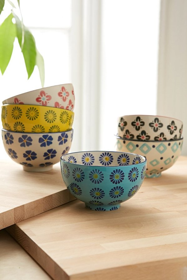 Urban Outfitters Floral Treat Bowl Set