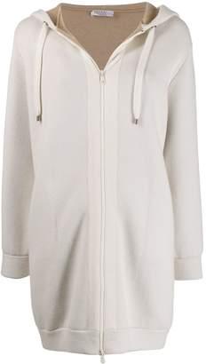Brunello Cucinelli longline hooded cardigan