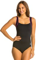 TYR Pink Square Neck Controlfit 41011