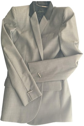 Barbara Bui Grey Cotton Jacket for Women