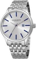 Akribos XXIV Men's Radiant Sunray Dial Date Bracelet Watch