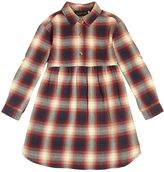 Finger In The Nose Plaid Cotton Flannel Dress