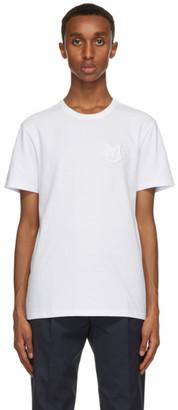 Moncler White Logo T-Shirt