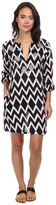 Echo Ikat Sequined Tunic Cover-Up