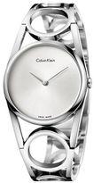 Calvin Klein Stainless Steel Bangle Watch, K5U2M146
