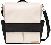Petunia Pickle Bottom Glazed Color Block Pathway Pack (Birch/Black) Diaper Bags