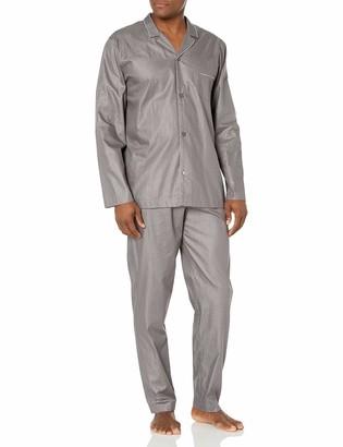 Hanro Men's Maxim Long Sleeve Pajama Set