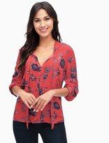 Splendid Cindelle Floral Print Shirt