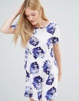 Vero Moda Super Easy Skater Dress In Floral Print