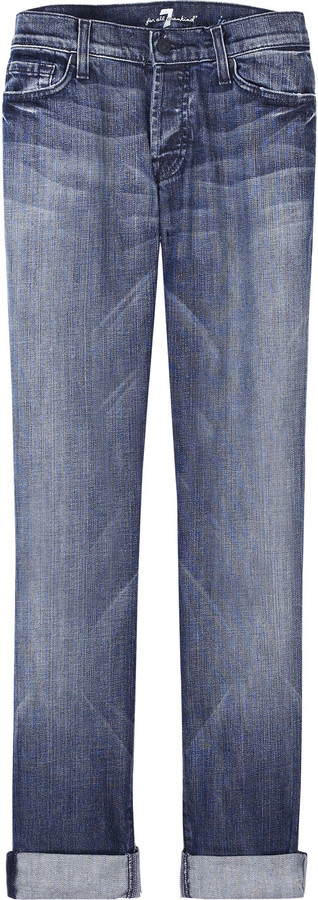 7 For All Mankind Josefina boyfriend-fit jeans