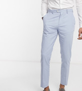 Gianni Feraud Wedding Tall linen slim fit suit pants