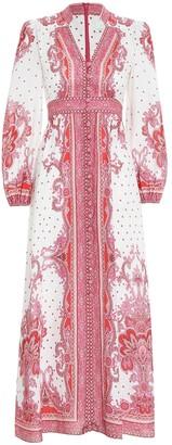 Zimmermann Bells Paisley Long Dress