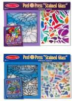 Melissa & Doug 'Undersea Fantasy & Rainbow Garden' Peel & Press Sticker Kits