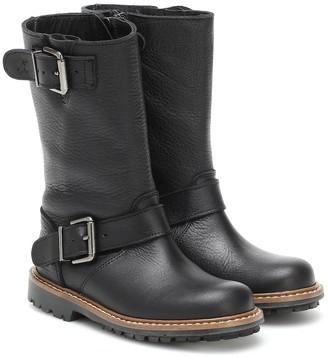 Bonpoint Moto leather boots