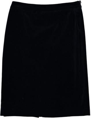 Miu Miu Navy Cotton Skirt for Women