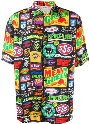 SSS World Corp Hawaiian shirt
