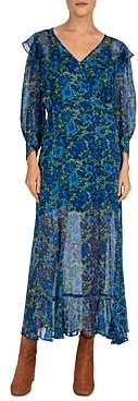 The Kooples Water Anemone Wrap Dress