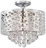 Lite Source Benedetta Ceiling Light - Silver