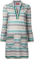 Missoni geometric pattern dress