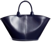 The Row 'To Go' spazzolato leather tote