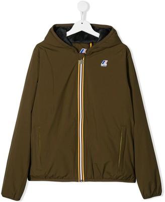 K Way Kids TEEN hooded padded jacket