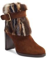 Stuart Weitzman Women's 'Gofurit' Genuine Mink Fur Bootie