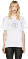 Saint Laurent White Université T-Shirt