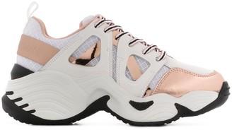 Emporio Armani Metallizzata low-top sneakers