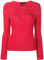 Polo Ralph Lauren fitted cable knit jumper