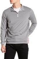 Peter Millar Perth Stripe Half Zip Pullover