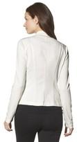 Merona Women's Ponte Collarless Jacket - Assorted Colors