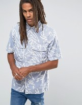 G-star Type C Boxy Shirt Short Sleeve Weather Arrow Print