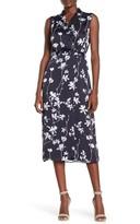 Equipment Femma Floral Midi Dress