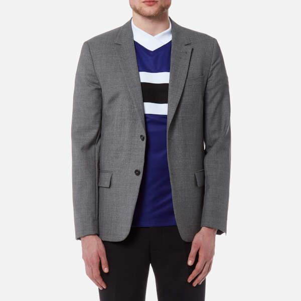 Ami Men's Two Button Jacket Heather Grey