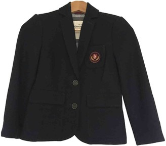 Abercrombie & Fitch Navy Wool Jacket for Women