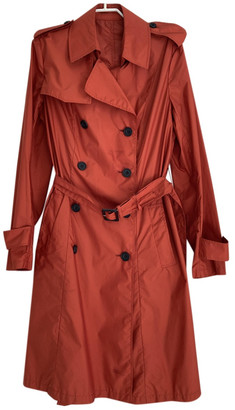 Aquascutum London Orange Polyester Coats