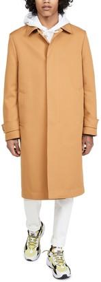 Paul Smith Mac Topcoat with Orange Lining