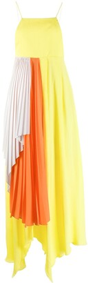 Unravel Project Pleated Draped Dress