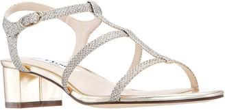 Nina Block-Heel Sandals - Gelisa